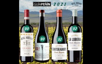Four REAL AGRADO wines obtain excellent scores at the GUÍA PEÑÍN 2021